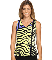Jamie Sadock - Actif Animal Print Sleeveless Tank Top