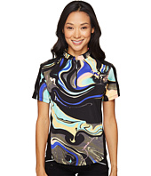Jamie Sadock - Galaxy Print Short Sleeve Top