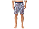 Los Flores Washed 4-Way Stretch Boardshorts 20""