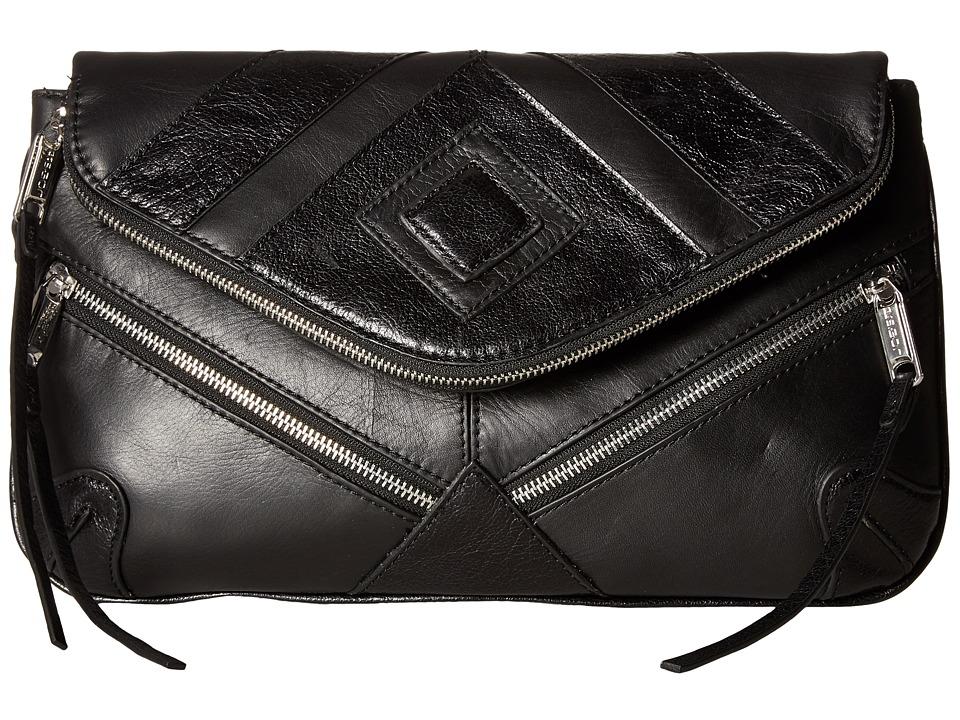 Joe's Jeans - Morgan Convertible Clutch (Black) Clutch Handbags