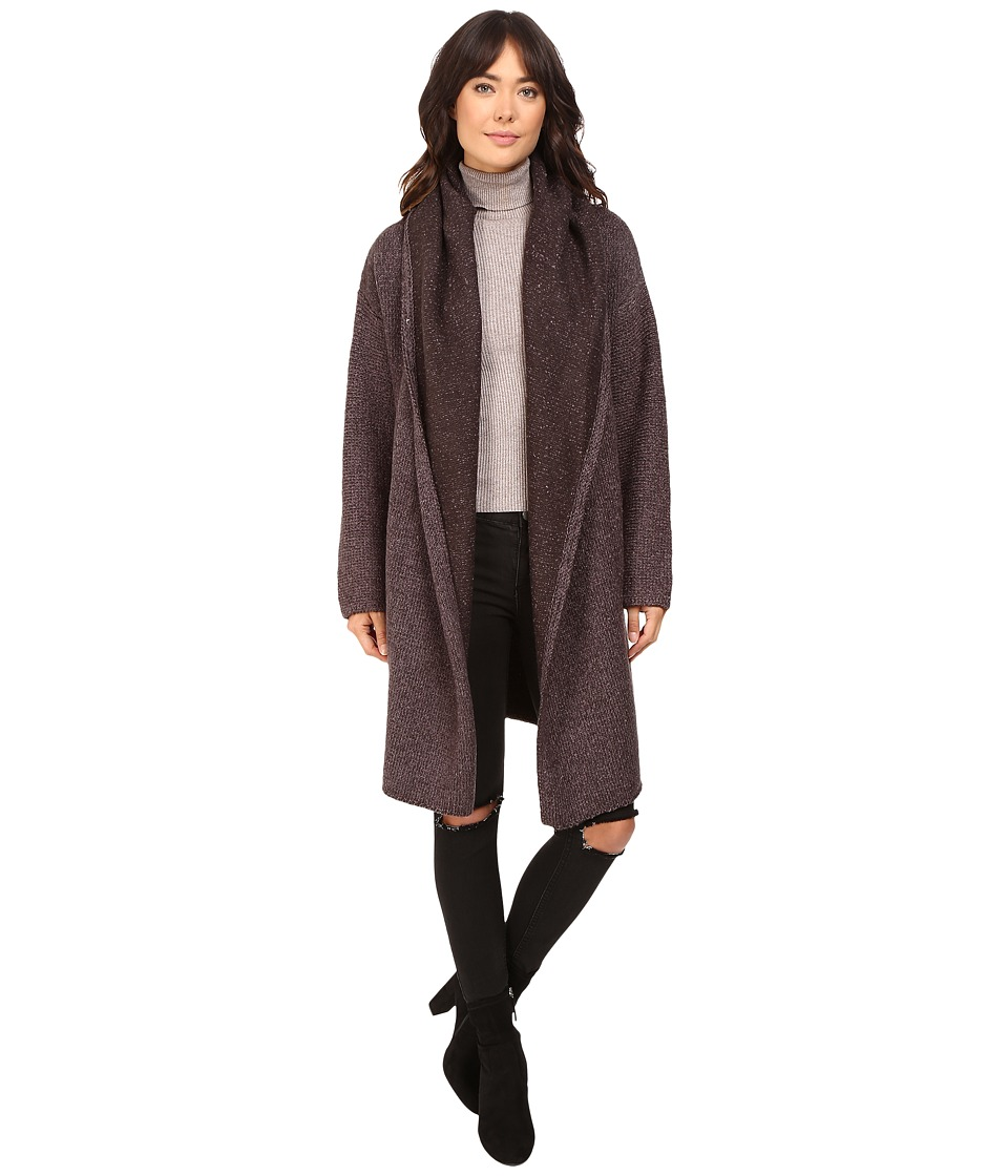 Brigitte Bailey - Luscious Car Coat (Heather Coal) Women's Coat plus size,  plus size fashion plus size appare