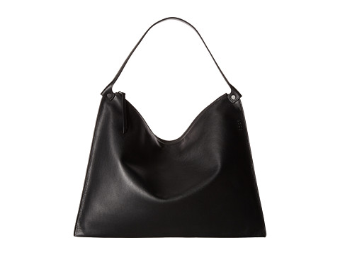 ECCO Sculptured Shoulder Bag - Black