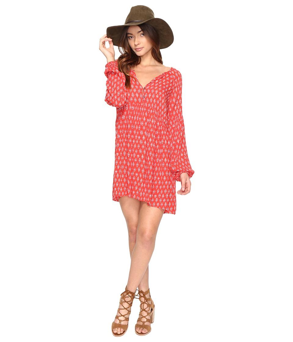 Billabong Until Tomorrow Dress (Rad Red) Women