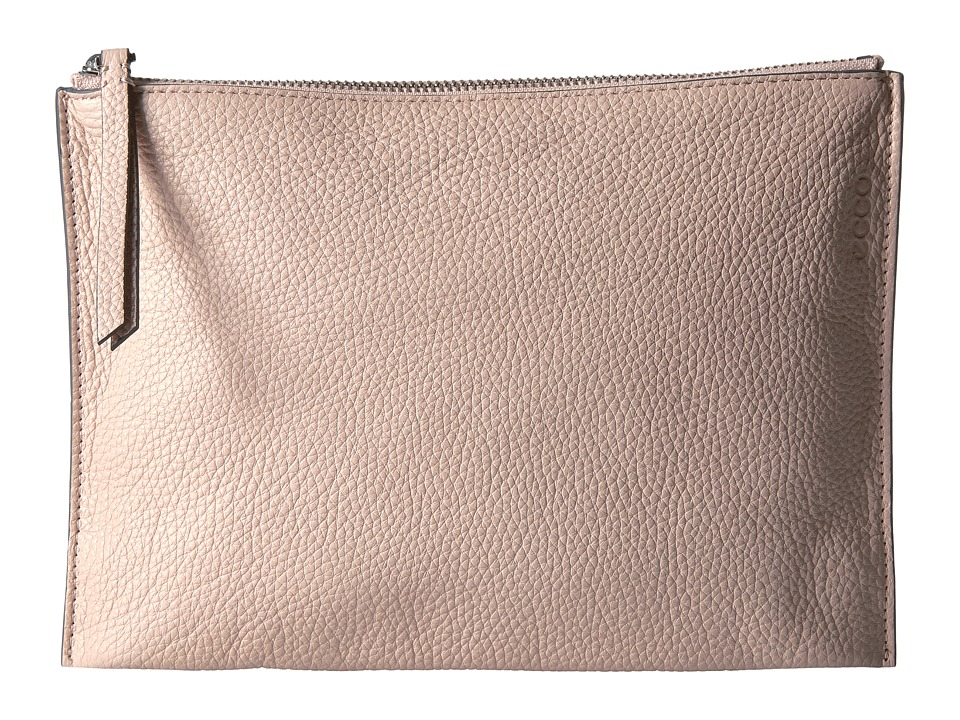 ECCO Sculptured Clutch (Rose Dust) Clutch Handbags