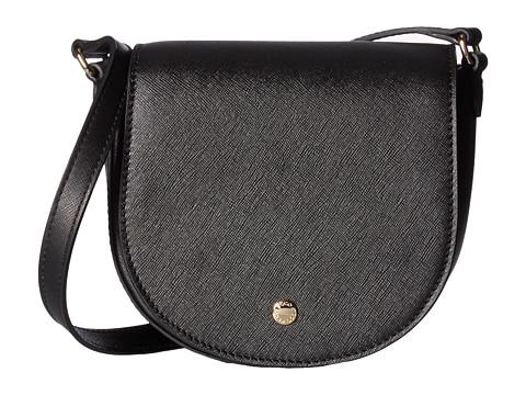 ECCO Iola Small Saddle Bag - Black