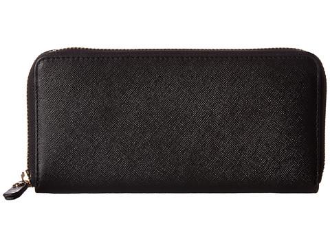 ECCO Iola Large Zip Wallet - Black