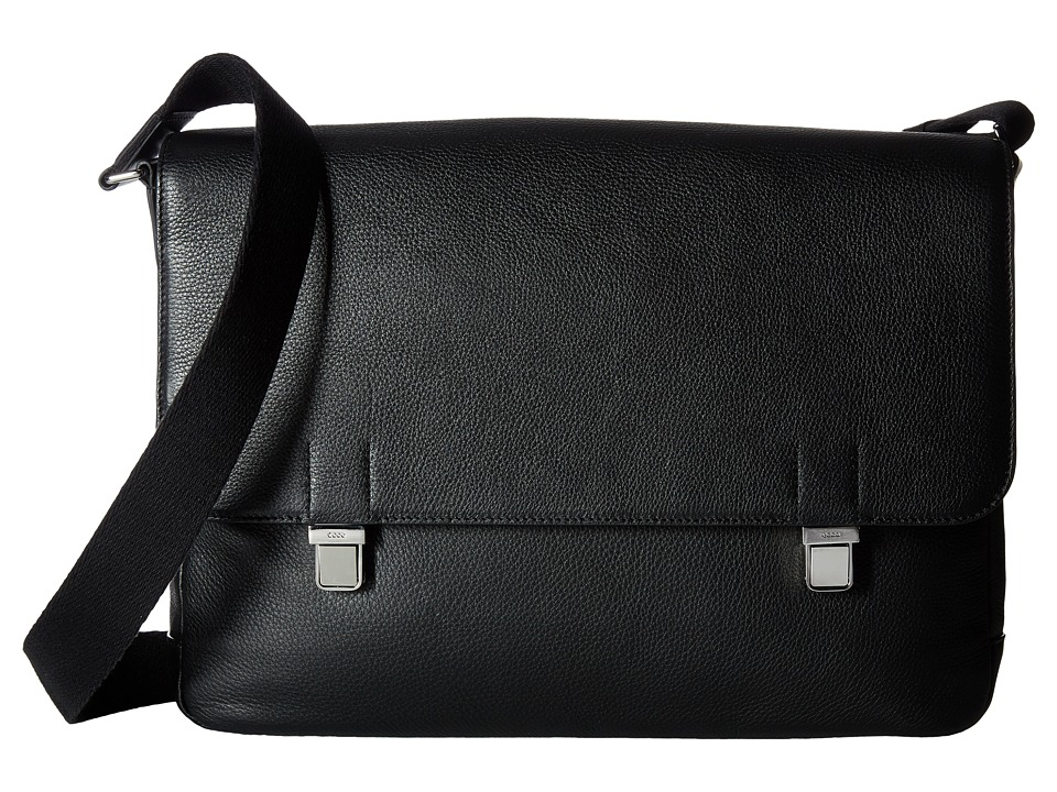 ECCO Jos Messenger (Black) Messenger Bags