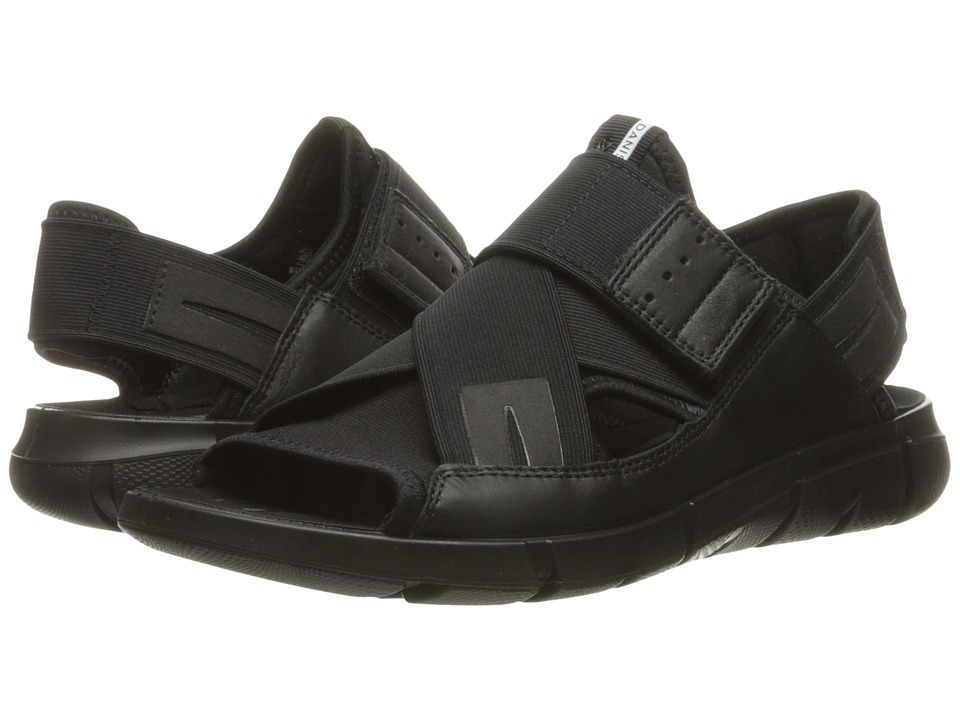 ECCO Sport Intrinsic Sandal (Black/Black) Men