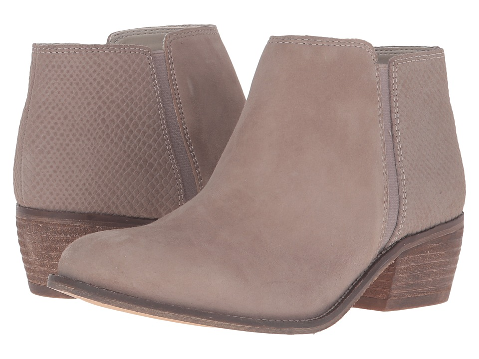 Dune London Penelope (Taupe Suede/Reptile) Women