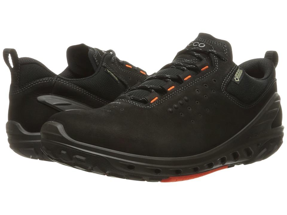 ECCO Sport - Biom Venture GTX Tie (Black/Black) Men's Ten...
