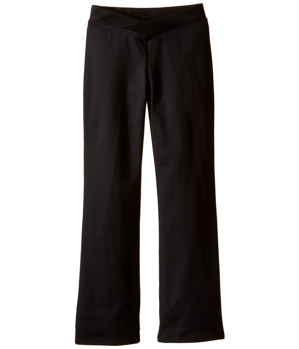 Bloch Kids - V-Front Pants (Little Kids/Big Kids) (Black) Girls Casual Pants