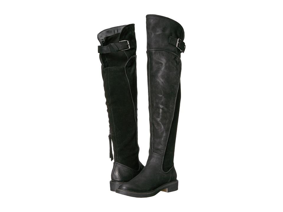 Dolce Vita Amos (Black Leather) Women
