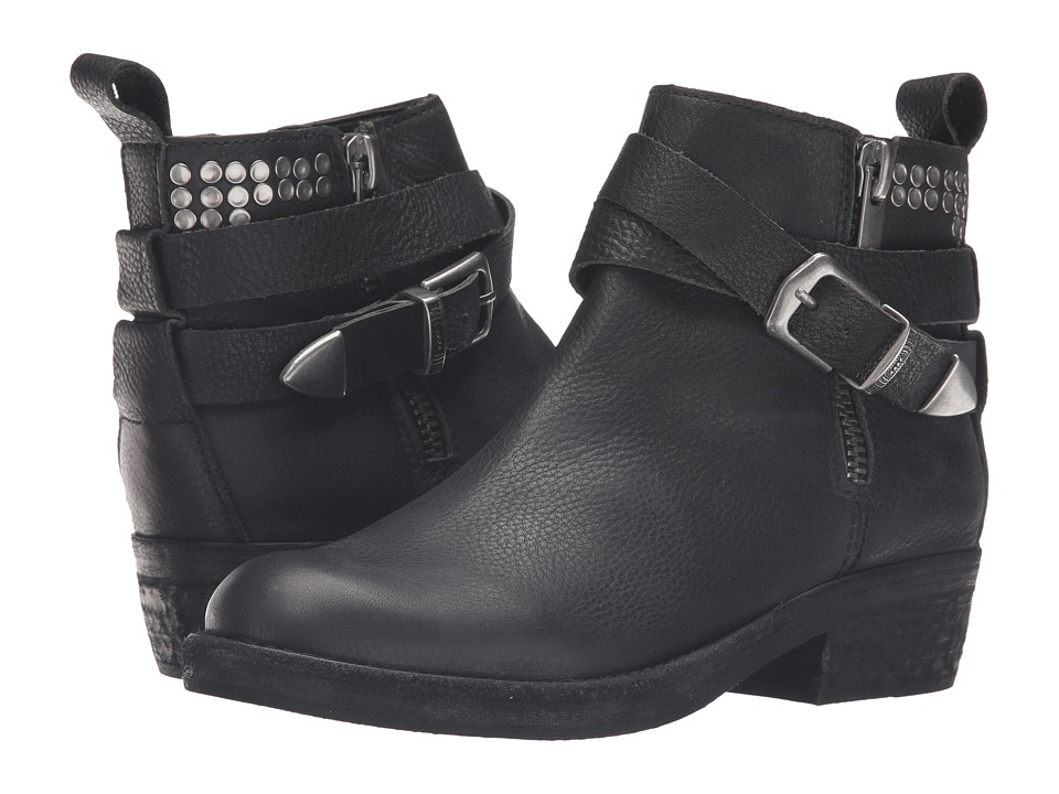 Dolce Vita Joey (Black Leather) Women