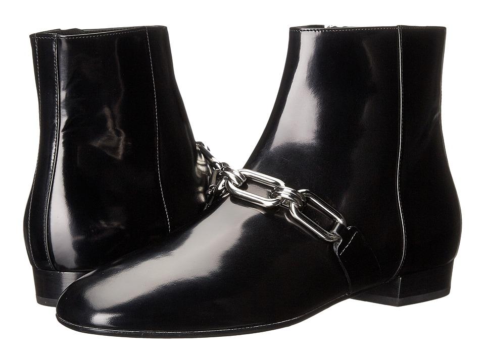 Michael Kors - Lennox Ankle Boot (Black Spazzolato) Women