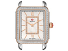 Michele Deco II Mid Diamond Rose Gold Diamond Dial Watch