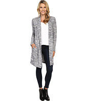 Dylan by True Grit - Soft Sweater Slub Long Cardigan