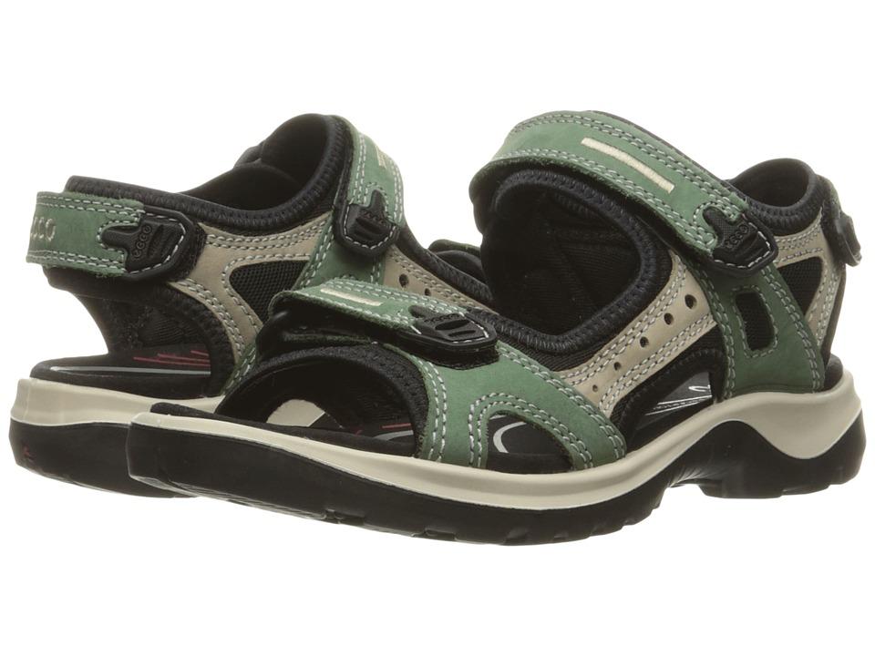 ECCO Sport Yucatan Sandal (Frosty Green/Moon Rock/Frosty Green) Sandals
