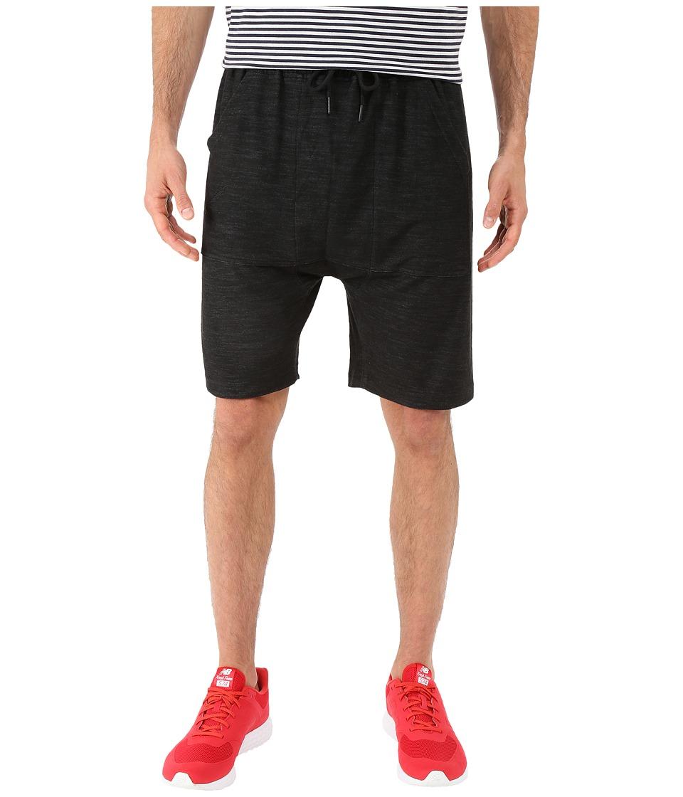 Publish Danar Reverse Terry Shorts Black Mens Shorts