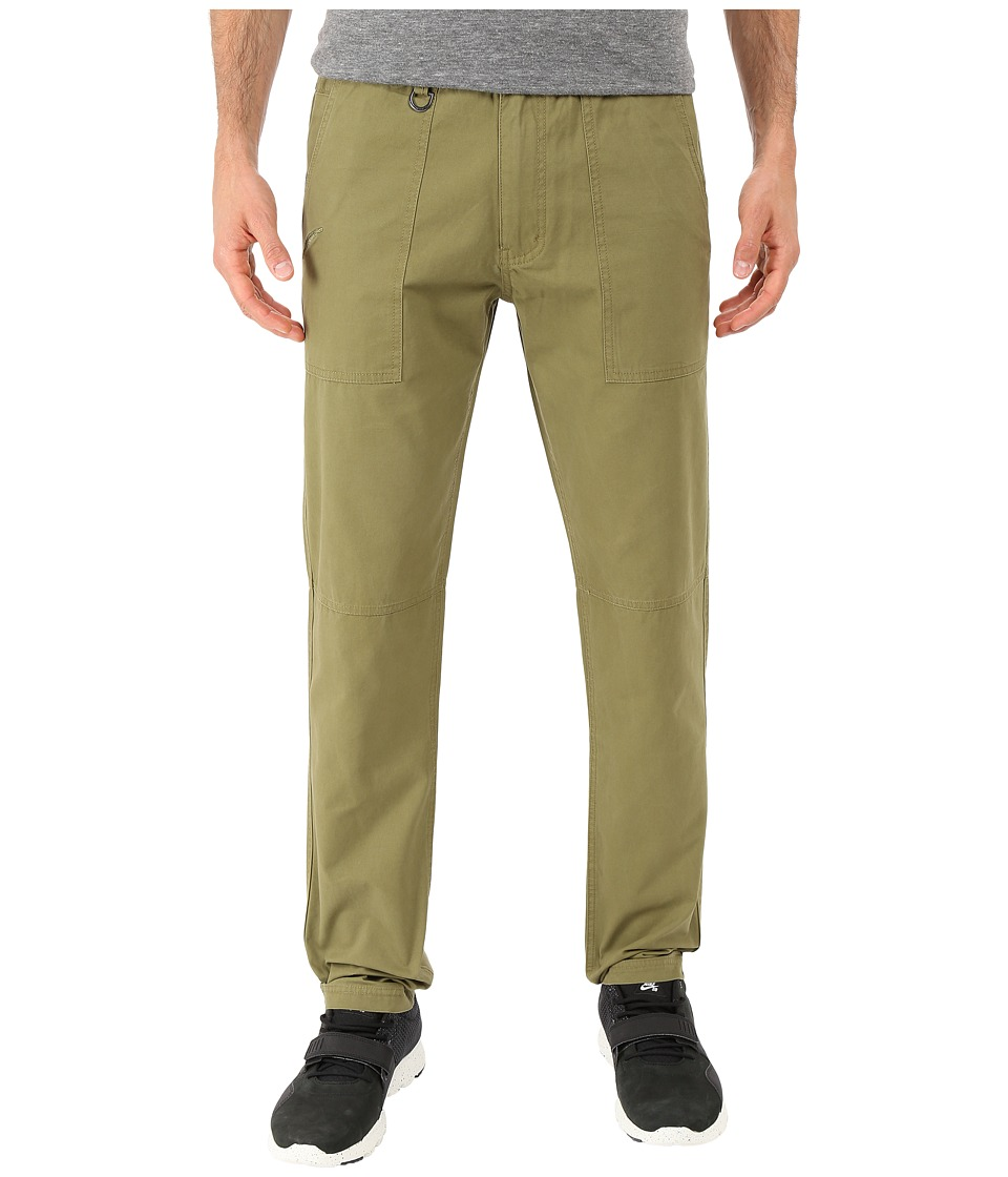 Publish Acker Classic Fit Twill Pants Olive Mens Casual Pants