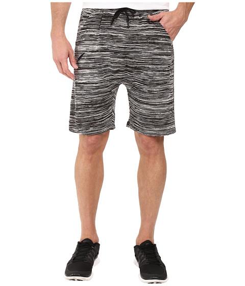 Publish Bazel - Heathered Knit Shorts - Black