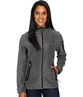 Free Country - Lazer Cut Pockets Fleece Jacket