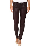 Paige - Verdugo Ultra Skinny in Wine Luxe Coating