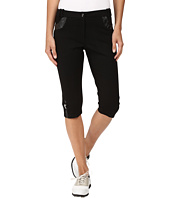 Jamie Sadock - Fly Front 24.5 in. Ponte Fabric Knee Capris