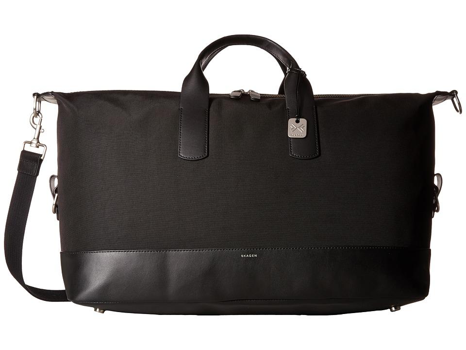 Skagen - Riis Duffel (Black 1) Duffel Bags