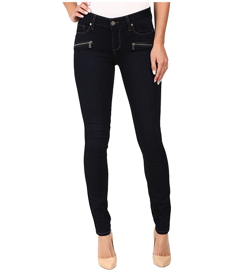 Paige Indio Zip Ultra Skinny in Ellora No Whiskers