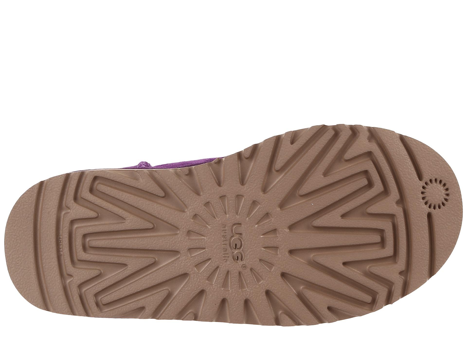 purple polka dot uggs