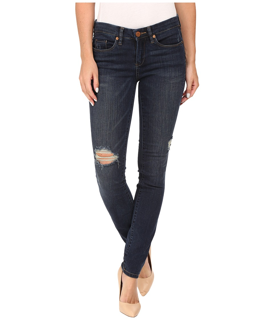 Blank NYC Dark Denim Distressed Skinny in Junk Drawers (Blue) Women