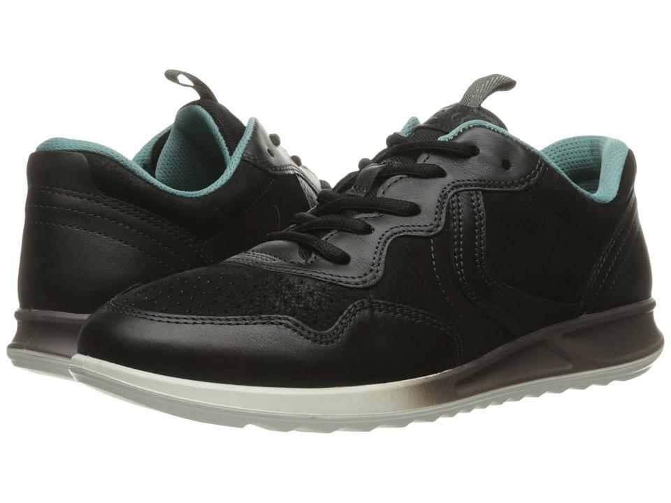 ECCO Genna Sneaker (Black/Black) Women