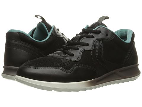 ECCO Genna Sneaker - Black/Black
