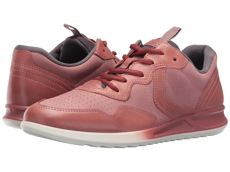ECCO Genna Sneaker (Petal/Petal/Titanium) Women
