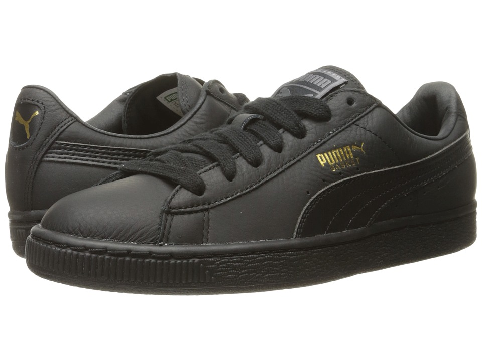 PUMA - Basket Classic LFS (Black) Mens Shoes