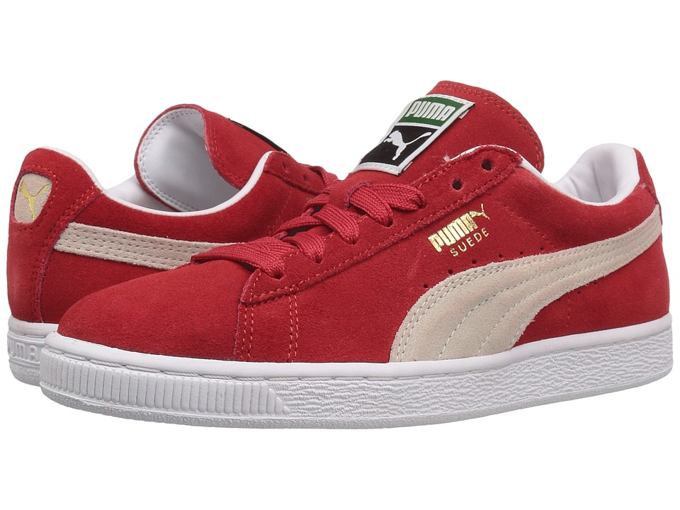 PUMA - Suede Classic (High Risk Red/White) Womens Shoes