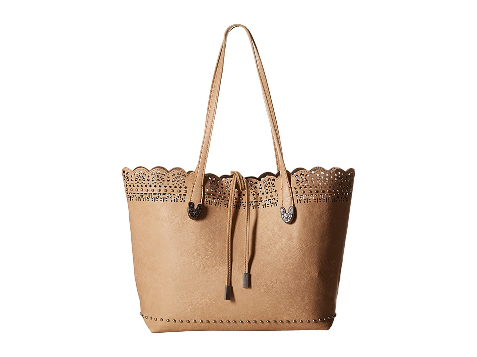 American West Darlington Filigree Day Tote Cream Tote Handbags