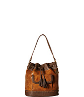 American West - Guns And Roses Drawstring Bucket Bag