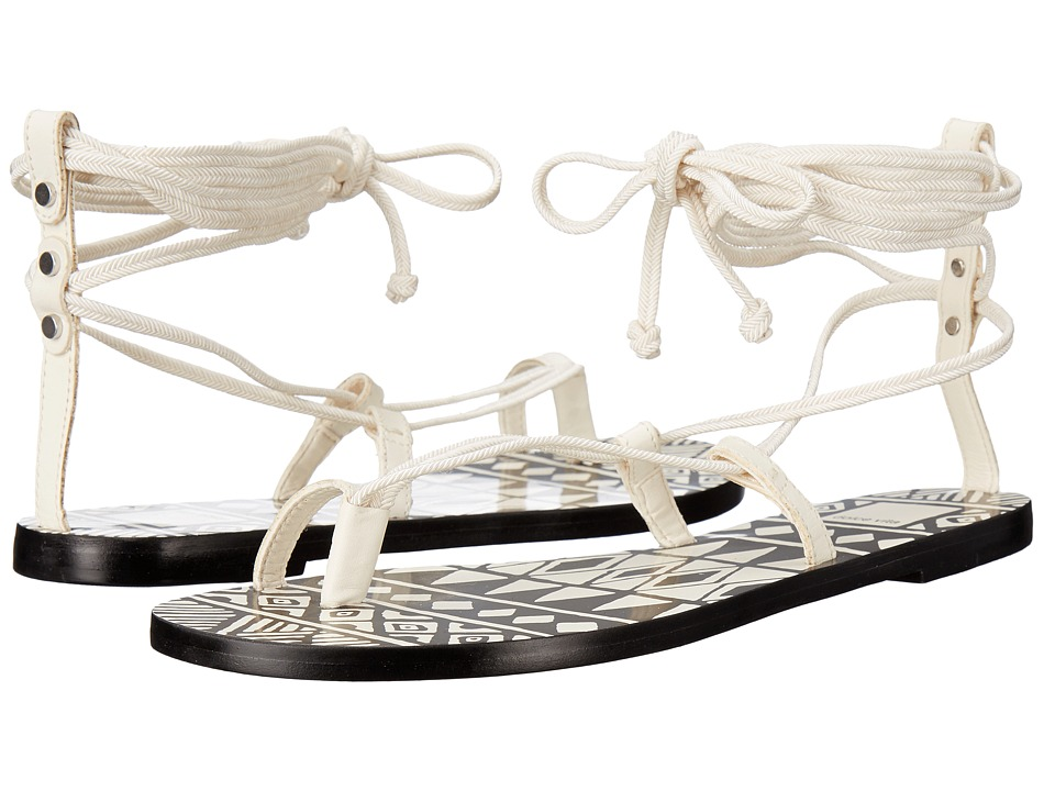 Dolce Vita Chandler Off White Leather Womens Shoes