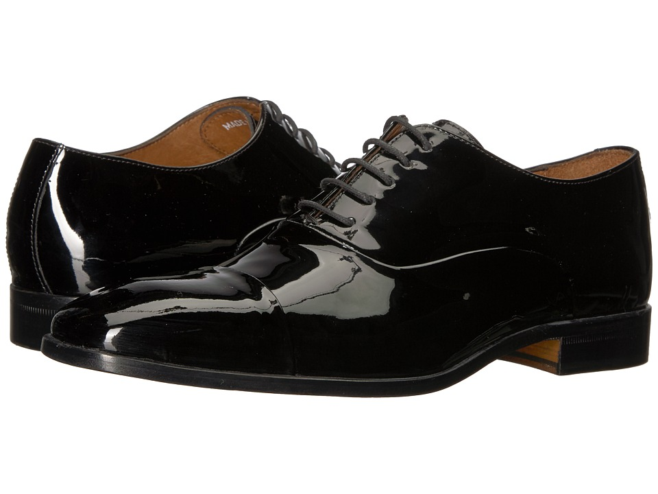 Massimo Matteo - Patent Formal Bal (Black/Black) Men's Shoes