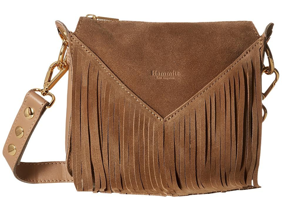 Hammitt Andrew Small Carolyns/Suede/Gold Handbags