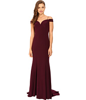 Adrianna Papell - Off Shoulder Mermaid Gown