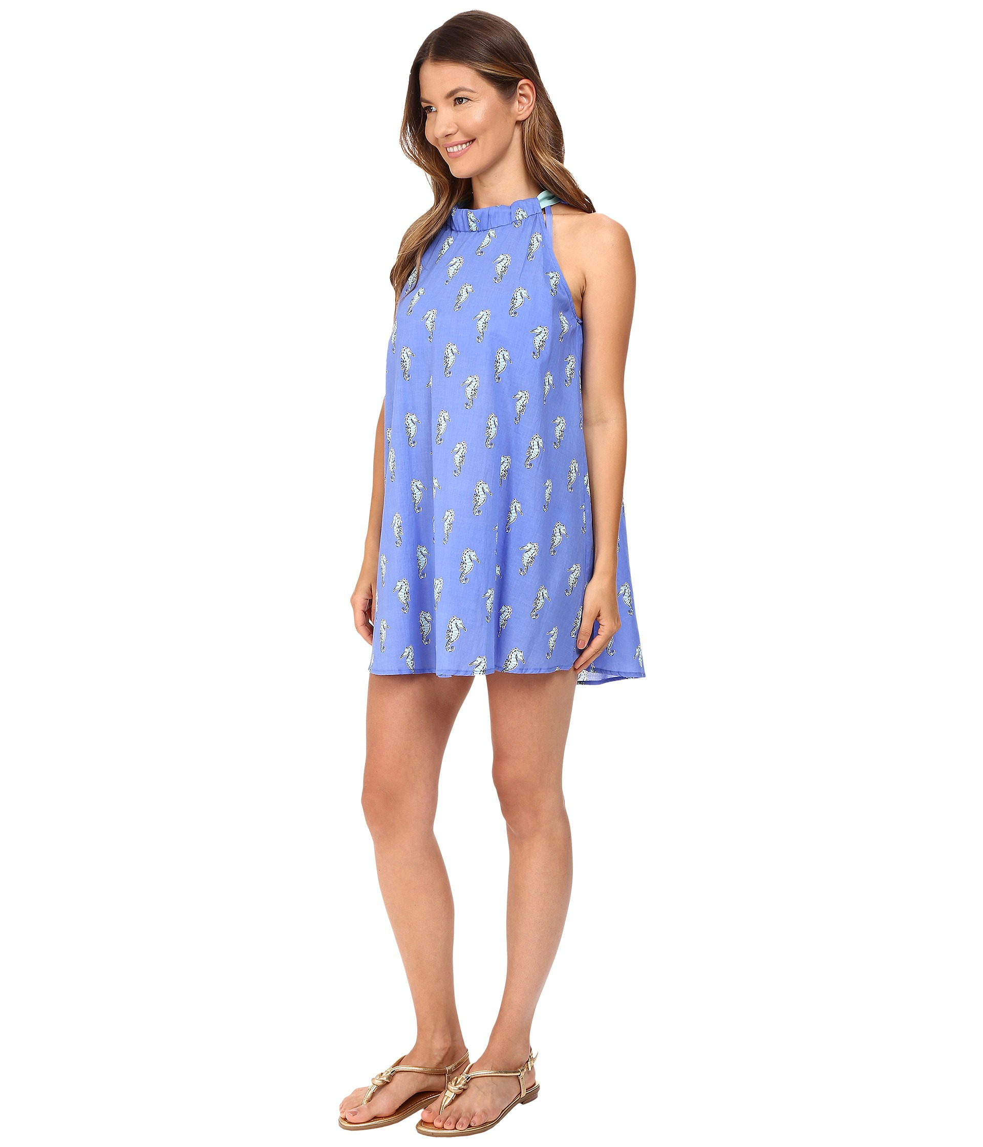 Kate Spade New York Adjustable Dress Cover-Up Caribbean ...