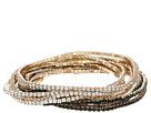 GUESS - 10-Piece Stone Stretch Bracelet Set