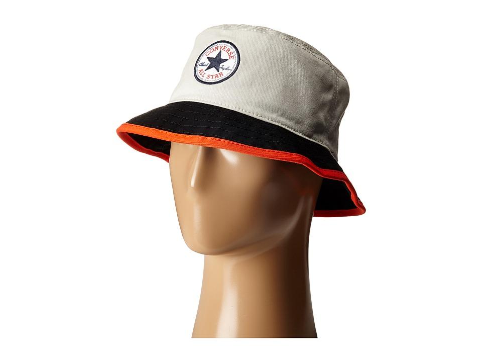 Converse Core Blocked Bucket Hat Vaprous Grey Bucket Caps