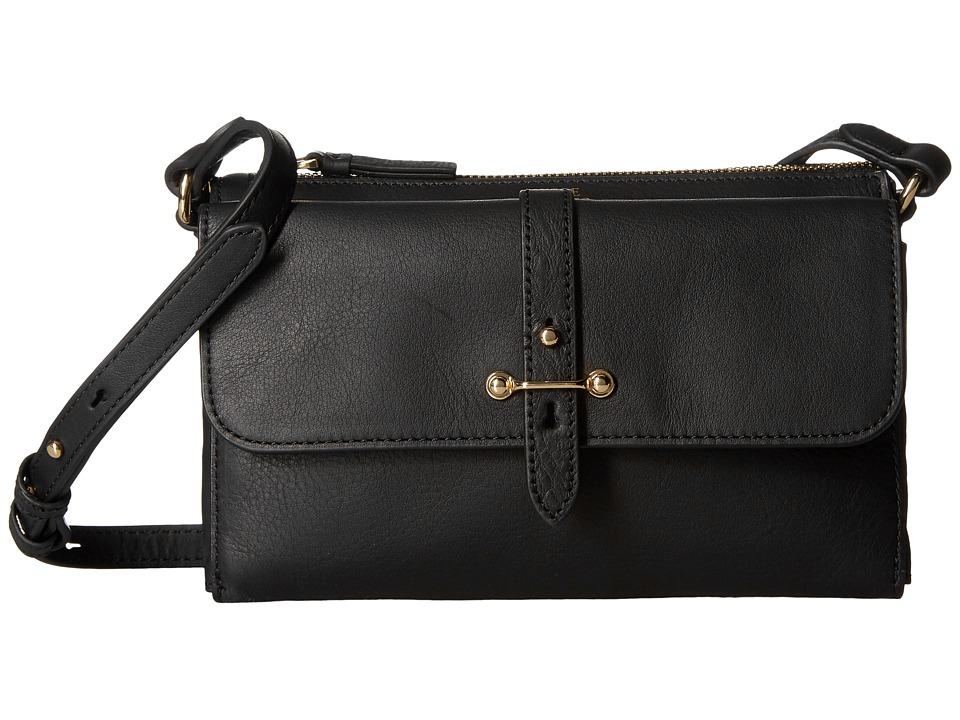 Vince Camuto - Cass Crossbody (Black) Cross Body Handbags