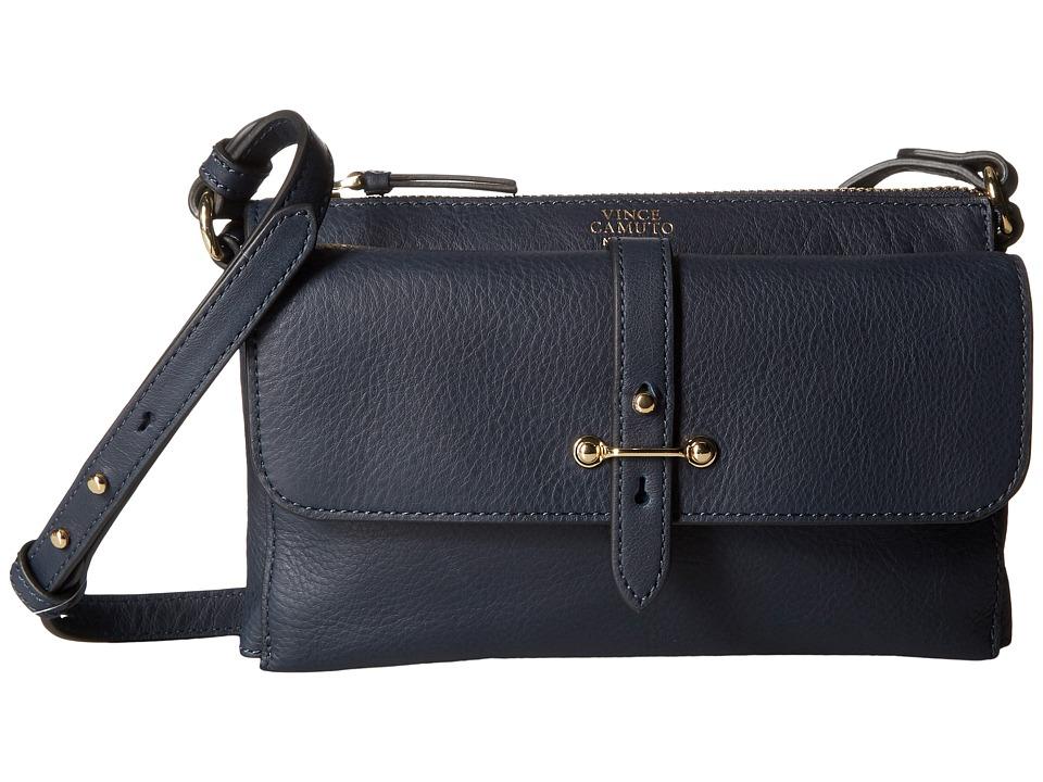 Vince Camuto - Cass Crossbody (Dress Blue) Cross Body Handbags