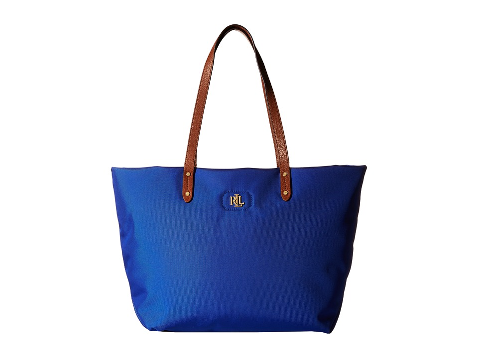 LAUREN Ralph Lauren - Bainbridge Tote (Pacific Blue) Tote Handbags