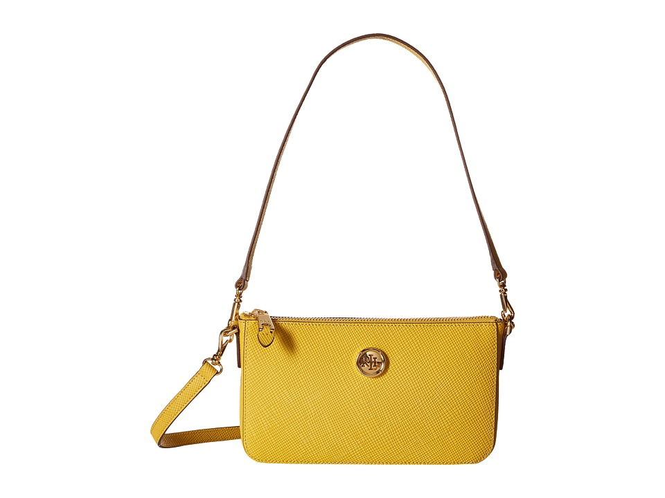 LAUREN Ralph Lauren - Pam Shoulder Bag (Mimosa) Tote Handbags