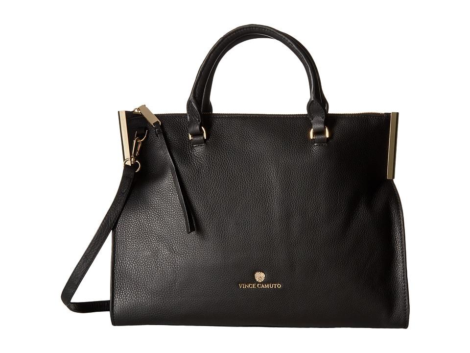 Vince Camuto - Tina Satchel (Black) Satchel Handbags